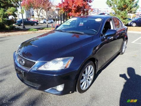 Lexus Is 250 Blue by 2006 Blue Onyx Pearl Lexus Is 250 Awd 87822194 Gtcarlot