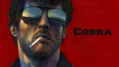 Cobra Stallone Sylvester Wallpapers Poster Glasses 80s