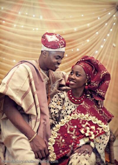 yoruba traditional wedding attire  couture crib