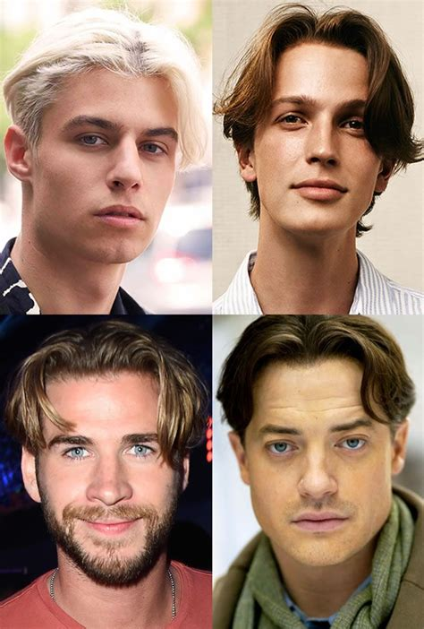 mens hairstyles trends   curtains  centre
