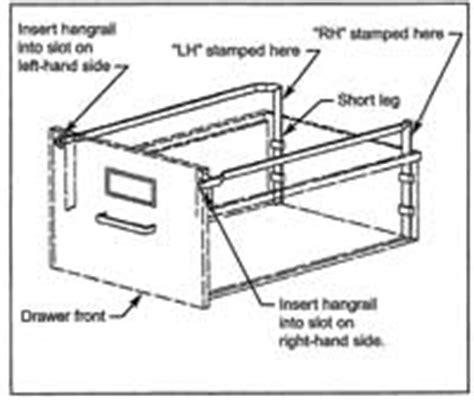file cabinet repair parts hon file bars hon hangrails replacement file bars for hon