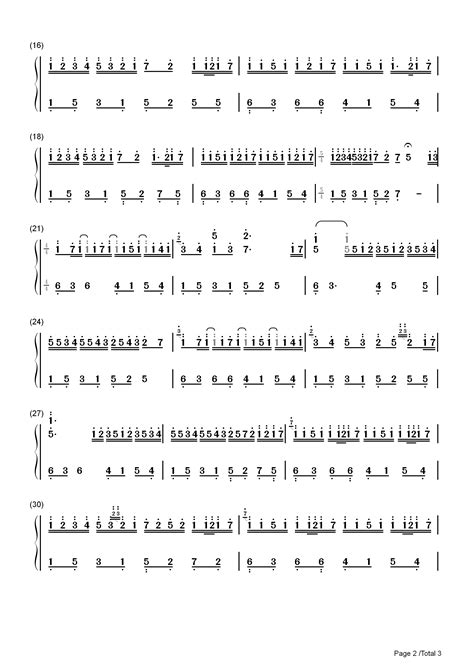 This page is about numbered kalimba sheet music beginners,contains ranch beginners 17 key kalimba lesson 4,download kalimba sheet ranch beginners 17 key kalimba lesson 4. River Flows in You-Yiruma Numbered Musical Notation Preview 2 | River flow in you, Notations ...