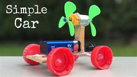How To Make Electric Car by How To Make A Car Electric Car With Two Fan
