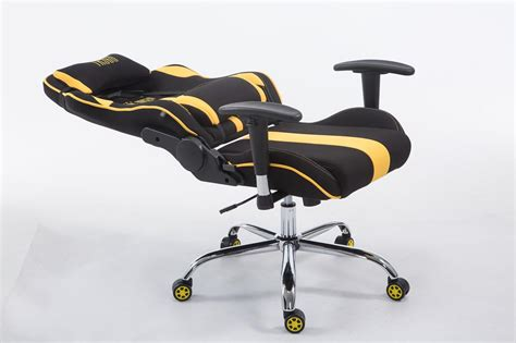 Sedia Gaming Limit Tessuto Poltrona Racing Carico Max 150