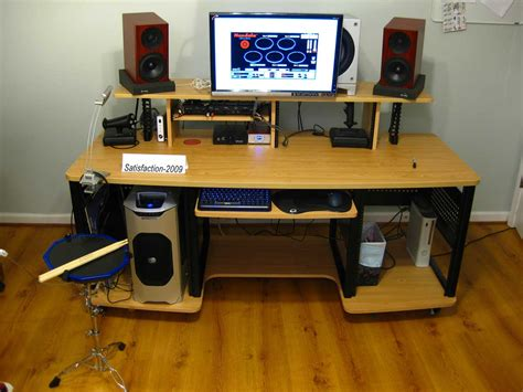 studio rta creation station studio desk cherry 7 best images of desk studio rta creation station studio