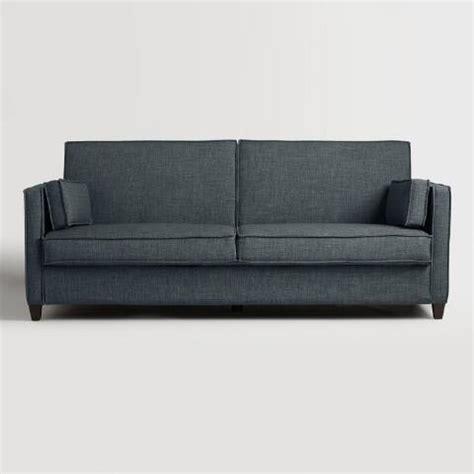 world market sofa bed indigo blue nolee folding sofa bed world market