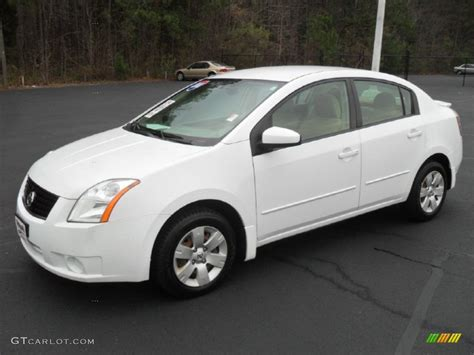 nissan 2008 white fresh powder white 2008 nissan sentra 2 0 exterior photo