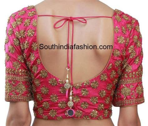 full work designer blouses south india fashion