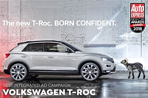 car advertising campaign   year  volkswagen  roc  car awards   winners