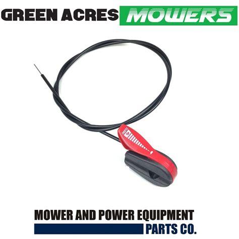 throttle lever control cable fits honda hrur hrud