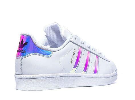 Adidas Superstar (gs)white Metal Silver Juniors Women's