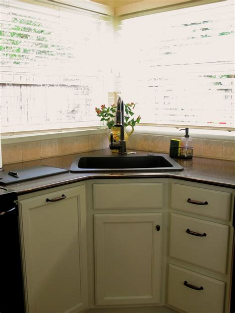 corner kitchen sink cabinet best and cool corner kitchen sink for clean home