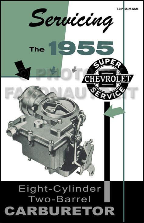 chevy   bbl carburetor repair manual rochester gc