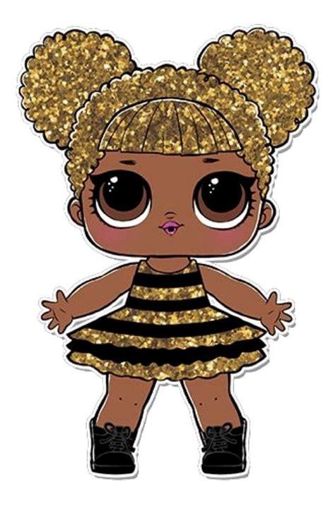 kit display chao lol surprise queen bee  pecas mdf