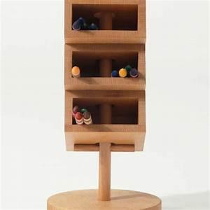 3, Tier, Wooden, Office, Desk, Organizer, Beech, Wood