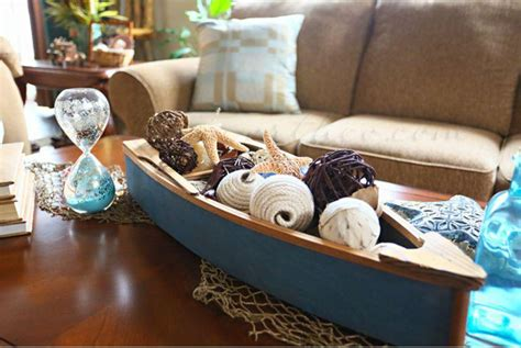 themed coffee table 35 centerpiece ideas for coffee table table decorating ideas 4369