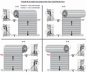 Programmation Telecommande Nice Volet Roulant : volet roulant nice reglage mesdemos ~ Mglfilm.com Idées de Décoration