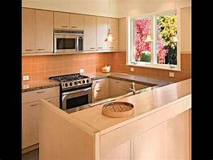 new open kitchen design video youtube With sample kitchen cabinet for small house