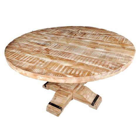 mango wood kitchen table rustic mango wood pedestal dining table