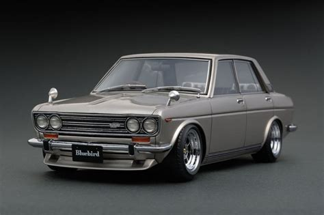 Datsun Picture by Nissan Datsun Bluebird Sss 510 Silver Ignition Model