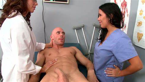 Butts Nurse Drill Taking By Doctors And Patients Prick