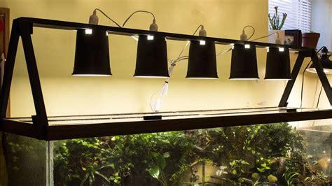 diy standing light fixture vivarium terrarium aquarium