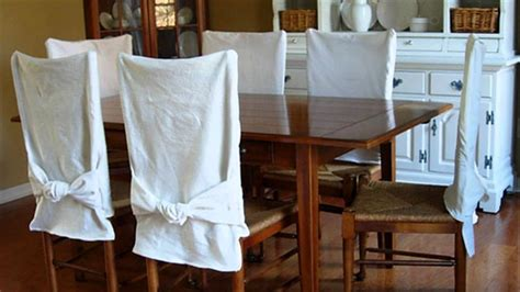 how to make a slipcover for the back of a chair