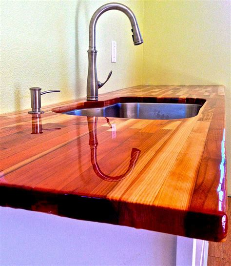 wood countertop  ultraclear epoxy photo gallery
