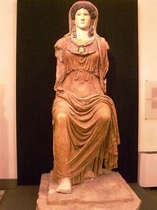 Women In Ancient Greece Roman Empire Marble Statue Of The Goddess Minerva This