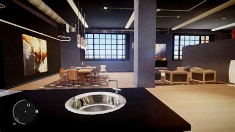 Gta V Online Home Interiors : Gta 4 Algonquin Safehouse Interiors Retextured Mod