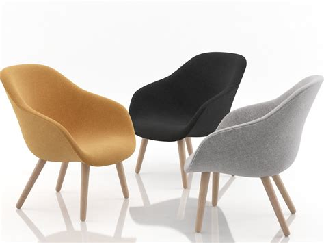 about a lounge chair aal82 3d model hay