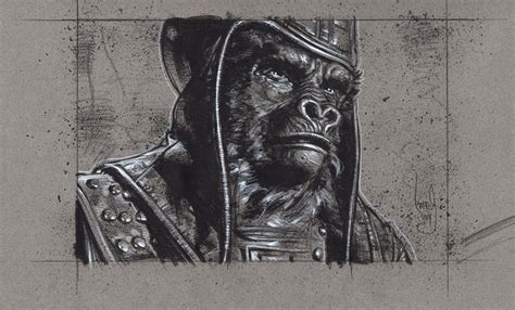 General Ursus, Planet Of The Apes By Jefflafferty On