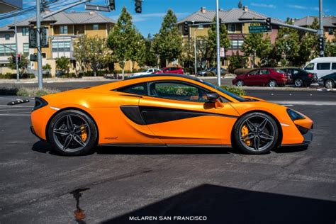 Ventura Orange Mclaren 570s Coupé By Mso Side View