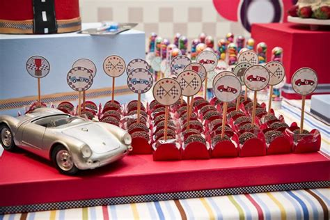 Kara's Party Ideas Vintage Race Car Themed Birthday Party. Restaurant Decorating Ideas. Mirrored Wall Decor. Decorative Sailboats. Decorative Electrical Switches. Book A Room.com. Girl Decorations. Paint For Girl Room. Rent A Hotel Room For A Month