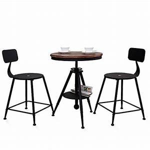 Table Et Chaise De Bar : fei confortable chaise de bar chaises de loisirs en fer forg tables rondes et chaises solide et ~ Dode.kayakingforconservation.com Idées de Décoration