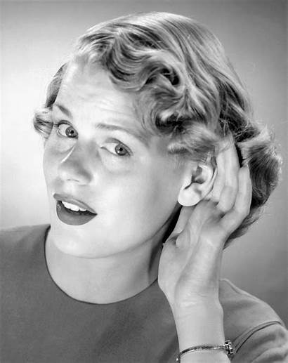 Ears Wired Woman Meet Sounding Sound Imaging