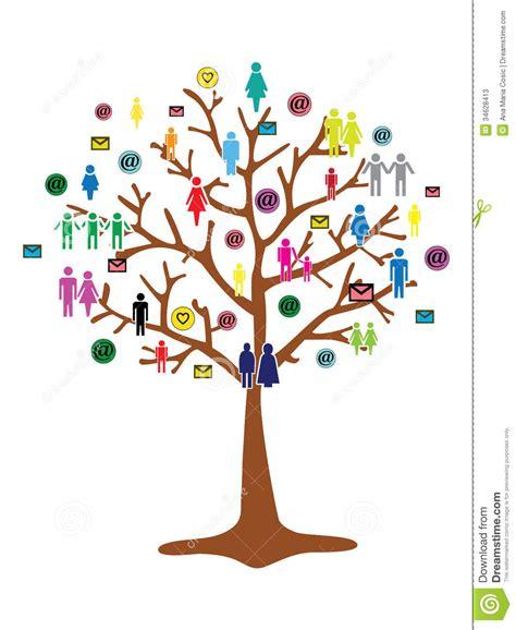 team work tree stock  image