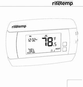 Download Ritetemp Thermostat 6030 Manual And User Guides