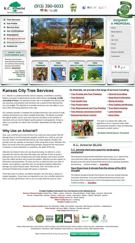 kansas city web design 1000 images about lawn care landscaping website design