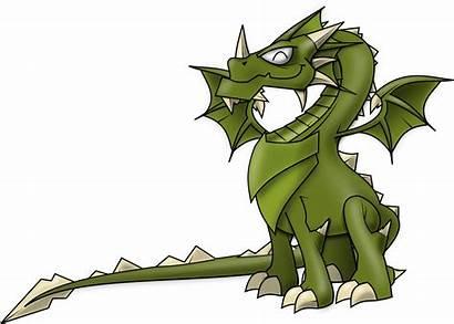 Dragon Clipart Clip Fantasy Transparent Kawaii Creatures