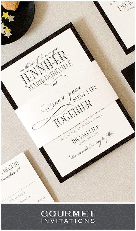 years eve formal wedding invitations gourmet invitations