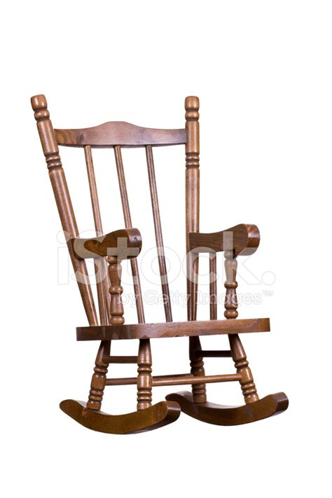wooden rocking chair stock photos freeimages