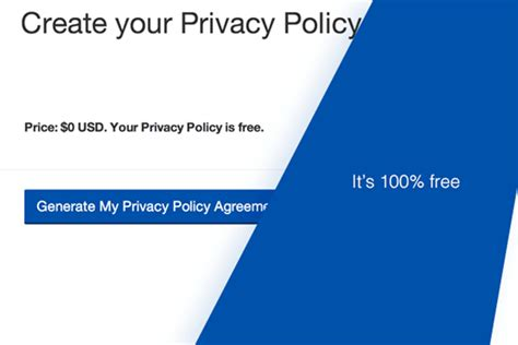 Privacy Policy Generator Hosting