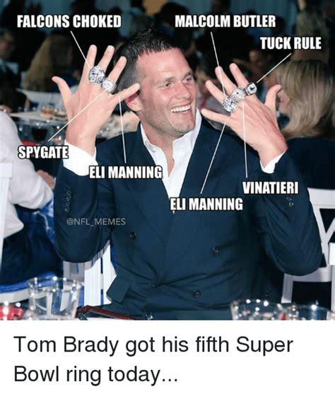 Brady Manning Memes - 25 best memes about super bowl rings super bowl rings memes