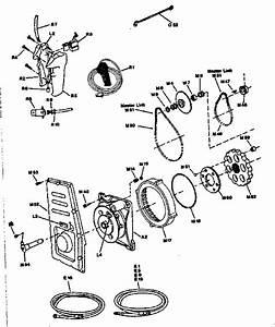 Motor Assembly Diagram  U0026 Parts List For Model Ox
