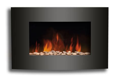 foxhunter wall mounted electric fire fireplace plasma