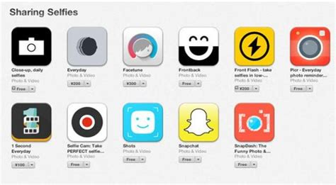 Apple Introduces 'sharing Selfies' Section On Itunes For
