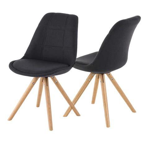 chaise design gris anthracite le monde de l 233 a