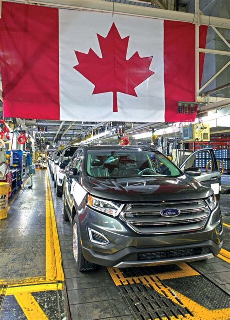 whats   canadas automotive industry plant