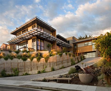 Interior And Exterior Design Of Margarido House In California